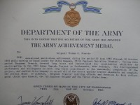 Army Engineers Achievement Medal