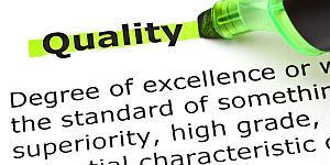 What's the quality of your report?